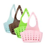 Portable Home Kitchen Hanging Drain Bag Basket Bath Storage Tools Sink Holder