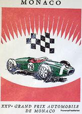 MERCEDES MASERATI 1967 TIMBRE MONACO  Premier Jour  FDC  Yt 710