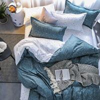 Starlight Cotton Bedding Duvet Quilt Cover Set Pillowcase Single Queen King Size