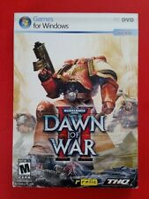 WARHAMMER 40,000 Dawn Of War II 2009 THQ Relic w/ Double Sided Poster