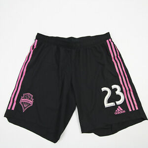 Seattle Sounders FC adidas Climalite Game Shorts Men's Black Used