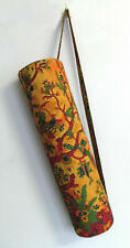 Tree Of Life Cotton Indian Yoga Mat Bag With Shoulder Strap Handmade Beautiful