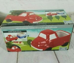 "(1) Cute Ceramic Vehicle Planter 3.5""-4.5"", Pick Your Favorite, RV, Truck ,Hitch"