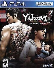 Yakuza 6: The Song of Life (Sony PlayStation 4, 2018)