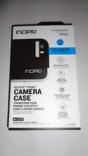 Apple iPhone 5/5S Incipio Focal Camera Case Black FREE SHIP IN SEALED RETAIL BOX