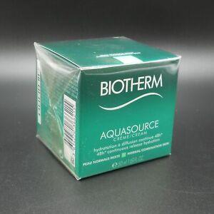 Biotherm Aquasource Cream (normal to mixed skin) 50 ml