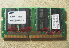 256MB X1 SODIMM for TOSHIBA 7000 7140 7200 1800 4000 4100 4600 PC100 RAM 01 PH