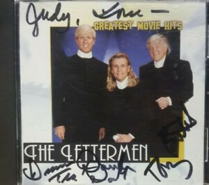 Autographed Signed The Lettermen Greatest Movie Hits CD RARE