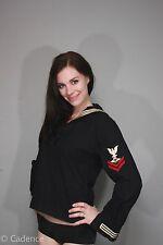 US WW2 Navy USN Named & Rare Parachute Rigger Wool Dress Jumper Shirt Jacket. 2