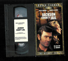 JACKSON COUNTY JAIL ( VHS) TOMMY LEE JONES YVETTE MIMIEUX VERY FINE tape/ VG box