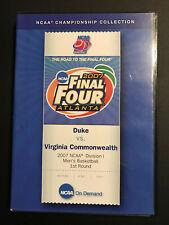 New listing 2007 NCAA Tournament  Shocker -- Virginia Commonwealth (VCU) vs Duke DVD