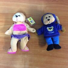 Lot of 2 Skansen Beanie Kids - Sister Beanie & Brother Beanie - w/ tags