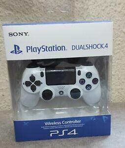 PlayStation DualShock 4 V2 Mando Inalámbrico - Blanco