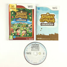 Animal Crossing Let's Go to the City Jeu Nintendo Wii