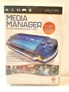 Media Manager For PSP PlayStation Portable System + 6 foot USB Cable    S7
