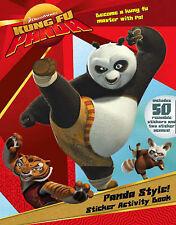 Kung Fu Panda - Panda Style!: Sticker Activity Book Paperback Book free p/p