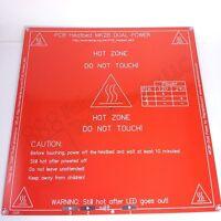 MK2B Heat Bed RepRap 3D printers Dual Power PCB HeatBed  - 12/24V  MK2