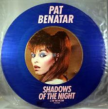 "Pat Benatar, Shadows Of The Night, NEW/MINT Ltd edition BLUE VINYL 12"" single"