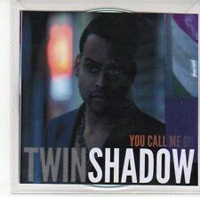 (DL487) Twin Shadow, You Call Me On - DJ CD