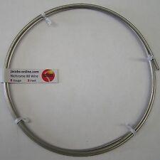 Nichrome 80 resistance wire, 8 AWG (gauge), 5 feet