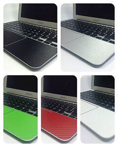 """Textured Carbon / Metal Skin Kit For MacBook Air 11"""" 13"""" Protection Sticker wrap"""