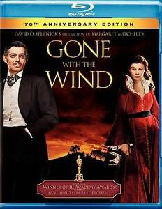 Gone With the Wind (Blu-ray Disc, 2009) Clark Gable NEW