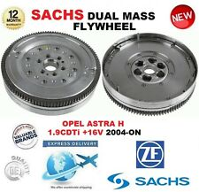 FOR OPEL ASTRA H 1.9 CDTi + 16V 2004-ON SACHS DMF DUAL MASS FLYWHEEL & BOLTS