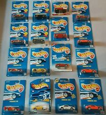 Hot Wheels only Ferrari (Lot of 16) Vintage Blue Cards  Hard to Find