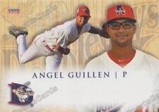 2018 Auburn Doubledays Angel Guillen RC Rookie Washington Nationals VZ