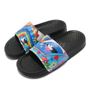Converse All Star Slide Pride Black Rainbow Men Unisex Slip On Sandal 170825C