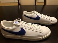 New Nike Blazer Low Leather Astronomy Blue Sneaker Shoes Size US 14