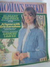 Womans Weekly 15th August, 1981 Knitting Patterns, Fashion, Recipes