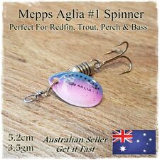 Mepps Fishing Spinner Lures Trout Lure Redfin Perch Yellowbelly Bass Trout #1