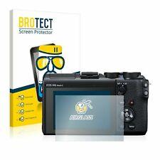 Canon EOS M6 Mark II , BROTECT® AirGlass® Premium Tempere Glass Screen Protector