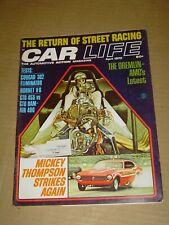 CAR LIFE MAGAZINE APRIL 1970 COUGAR 302 ELIMINATOR PONTIAC GTO 455 v RAM AIR 400