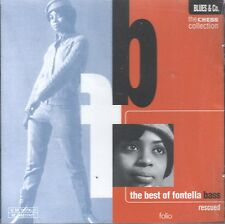 Rescued: The Best of Fontella Bass (CD, 1997 Folio) Chess Collection/Remastered