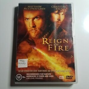 Reign of Fire   DVD Movie   Matthew McConaughey, Christian Bale  Action/Sci-fi