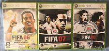XBOX 360 FIFA 06, 07, 08  PAL ESPAÑA
