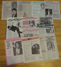 Joey Lawrence, Lot of TEN Full Page Vintage Clippings