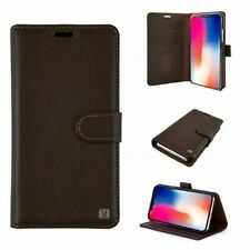 Uunique London Folio Wireless Charging Case iPhone X, XS Genuine Leather NEW