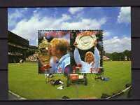 16065) St. Vincent 1987 MNH S/S Tenis Wimbledon - B