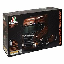 SCANIA R BLACK AMBER - TRUCKS & TRAILERS 1:24 - Italeri 3897