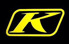 2- KLIM LOGO GEAR  Die Cut Vinyl Decal Sticker MOTO Snowboard UTV Snowmobile ATV