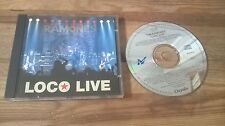 CD punk ramones-LOCO Live (33 chanson) Chrysalis