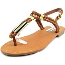 Calzado de mujer marrón Steve Madden sintético