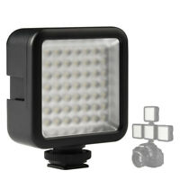 49 LED Video Light Lamp Photography Studio Dimmable for DSLR Camera DV Camco PM