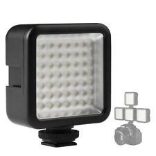 49 LED Video Licht Fotografie Studio Dimmbare für DSLR Kamera DV Camcorder xf