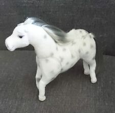 Horse - Plush Bendable Stuffed Animal - Dapple Gray - Applause - Realistic Look