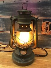 Rusted / Vintage Flicker Flame LED Hurricane Lamp