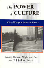 The Power of Culture: Critical Essays in American History-ExLibrary